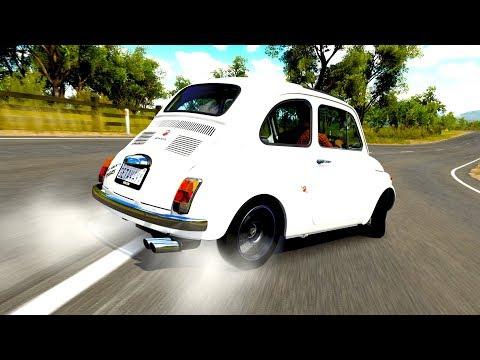 Forza Horizon 3 - Preparei um Carrinho pra DRIFT! Abarth 595 (G27 mod)