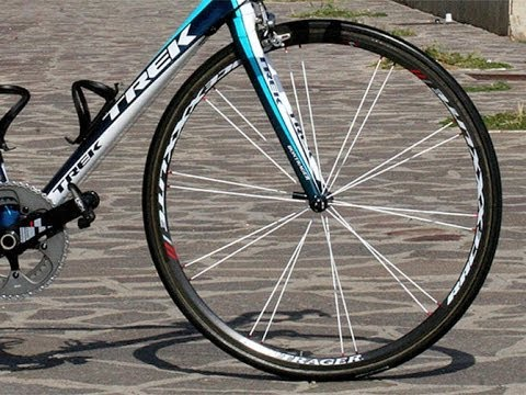 Cycling Tips How To Paint Your Spokes Different Colour