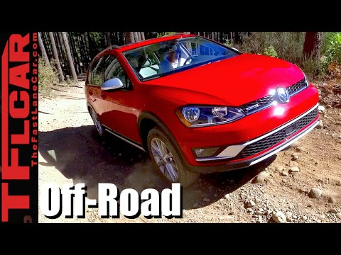 2017 Volkswagen Golf Alltrack On & Off-Road Review: New Dirty-Worthy VW Station Wagon?