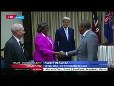 US Sec of State Kerry is in Kenya for talks on South Sudan