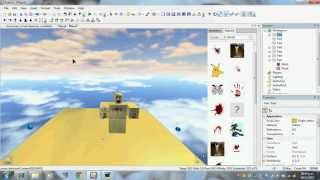 how to create a zombie model on roblox studio 2012-2013(really works)