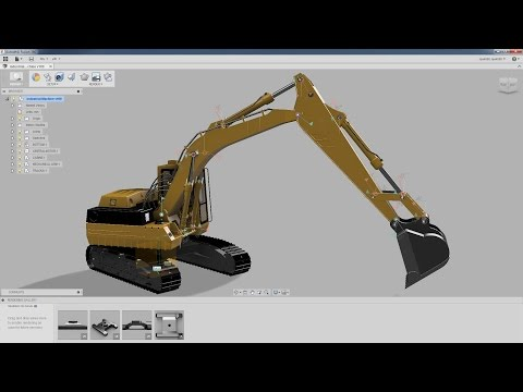 Industrial Machinery - Product Design - Fusion 360 - PART I