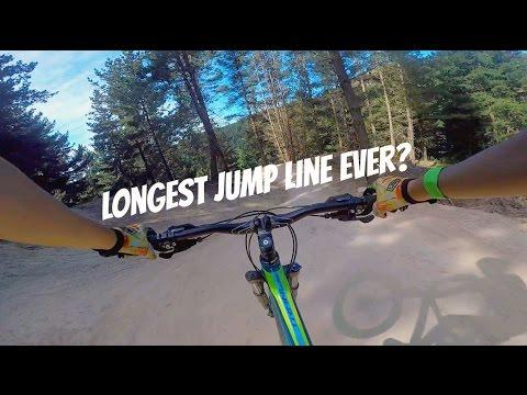 longest jump line ever? | Airtearoa Track | Christchurch Adventure Park