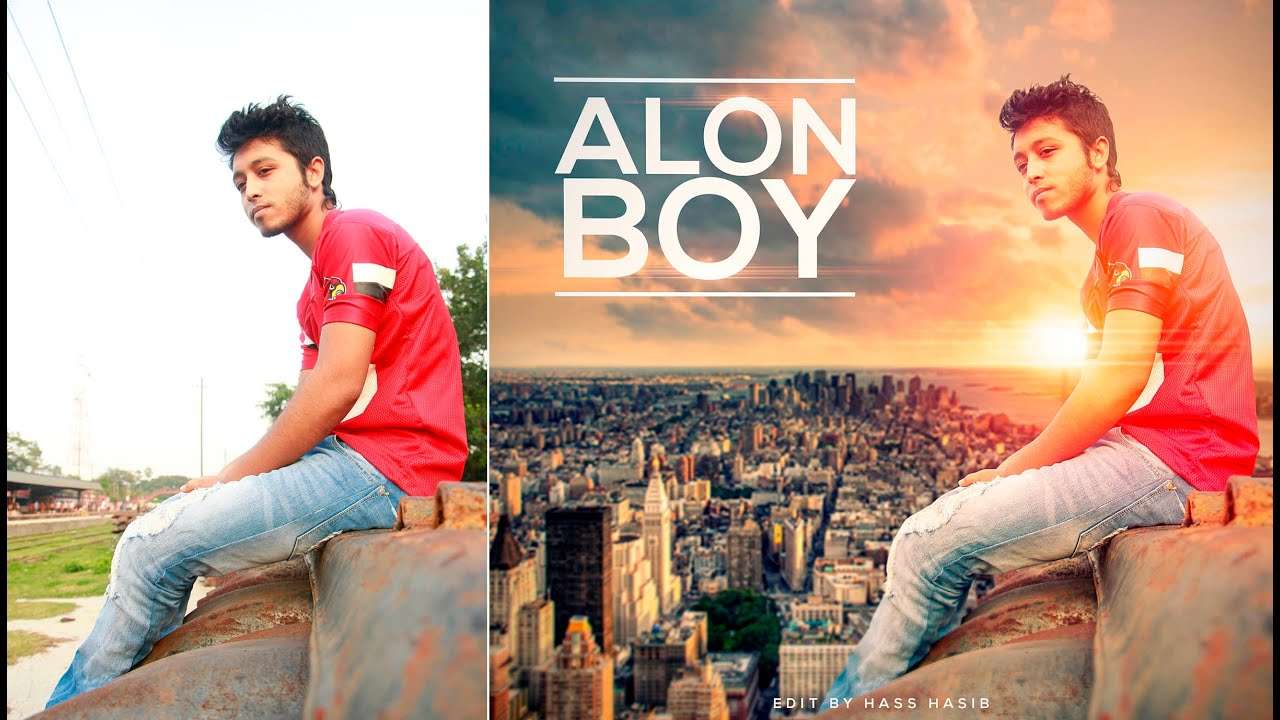 Alone boy creative photo manipulation best photoshop tutorial alone boy creative photo manipulation best photoshop tutorial photoshop cc tutorial youtube baditri Gallery