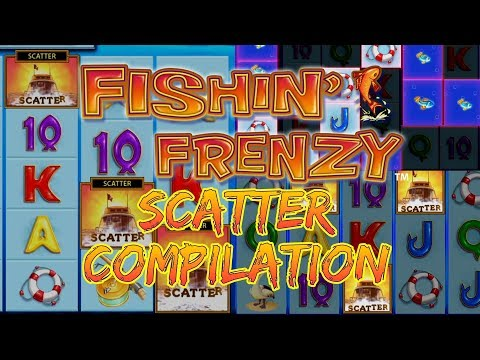 Fishin Frenzy Scatter Compilation