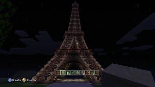 Let's Show Minecraft #2, Eiffelturm