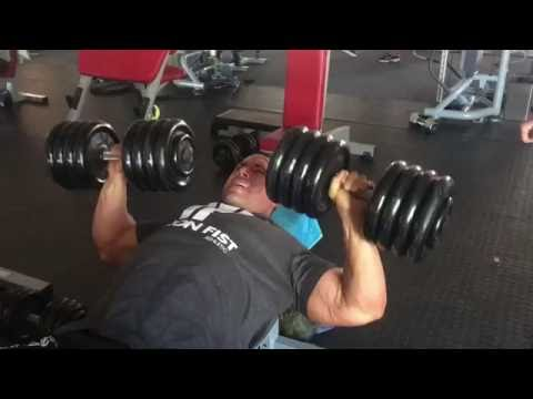 Chest 3 days after Arnold Classic SA