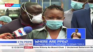 Where are PPEs? Pumwani nurses threaten to down tools over inadequate PPEs