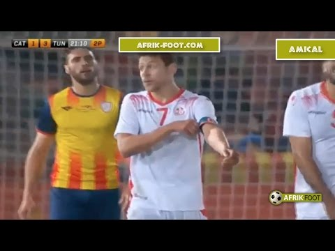 Catalogne vs Tunisie (3-3, 2-4 T.A.B) - Match amical