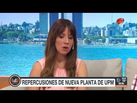 Buen día Uruguay - Repercusiones de nueva planta UPM 08 de Noviembre de 2017
