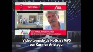 José Manuel Mireles entrevista con Carmen Aristegui