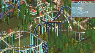 Rollercoaster Tycoon Loopy Landscapes #119 (Wacky Warren: Extreme Excitement)