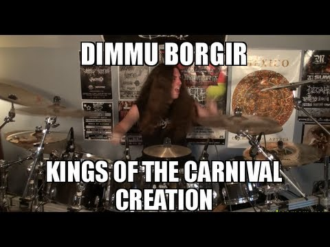 Samus Paulicelli - Kings Of The Carnival Creation - Dimmu Borgir Drum Cover