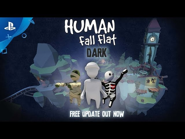 Human: Fall Flat | Dark Update - Release Trailer | PS4