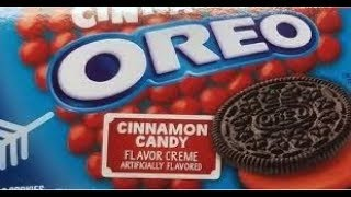 NEW! Oreo Hot and Spicy Cinnamon Review