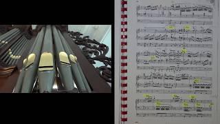 J. H. Rinck  RONDO uit Flötenkonzert   Willem van Twillert  Lohman organ Farmsum [Live recording]