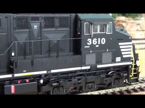 'MY TAKE' & Review:  Scaletrains Tier 4 Gevo (ET44AC) – HO SCALE
