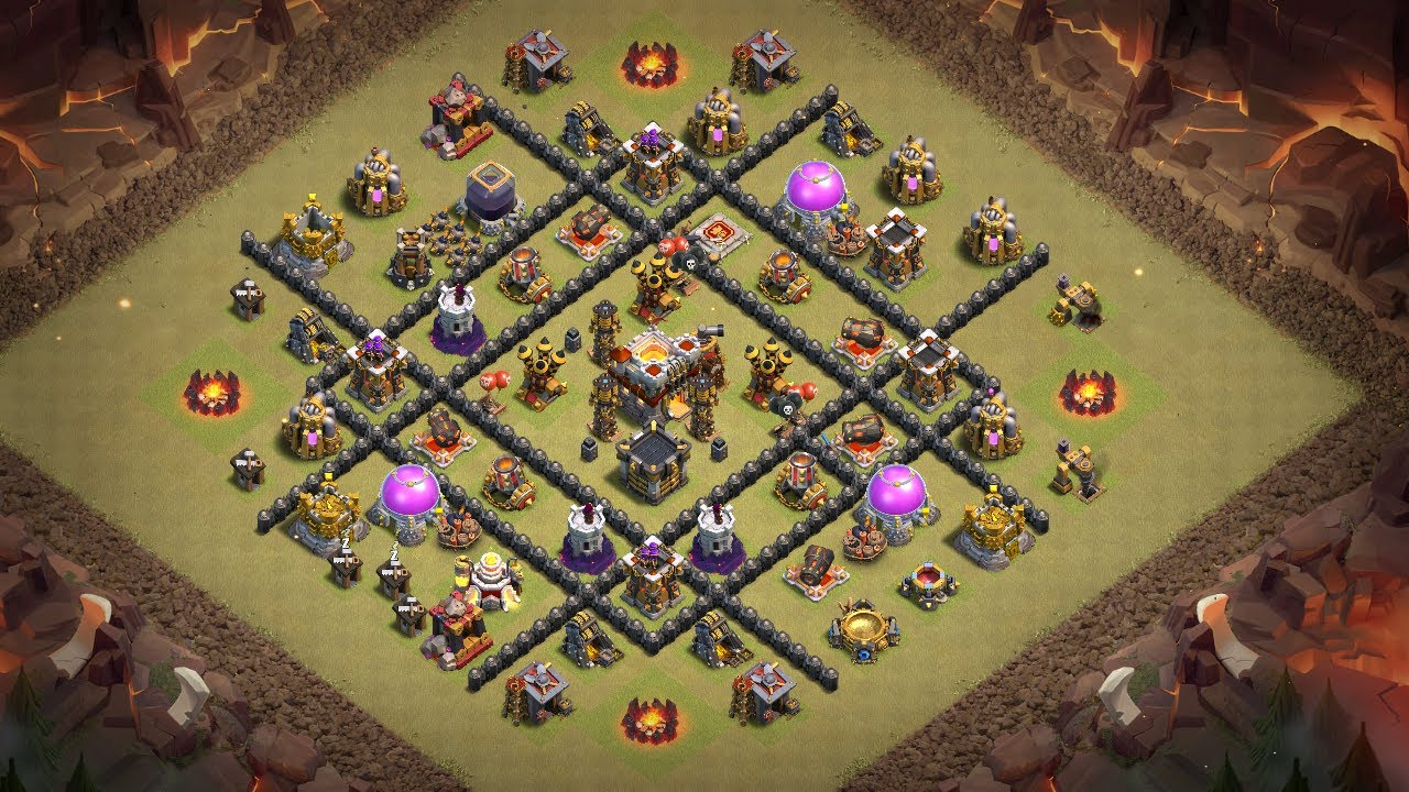 Undefeated Best Th 8 War Base 5