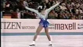 Midori Ito 伊藤 みどり (JPN) - 1989 World Figure Skating Championships, Ladies' Free Skate