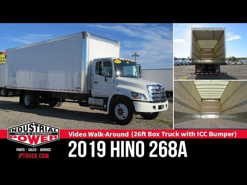 Commercial Trucks & Box Trucks | 2019 HINO 268A 26ft Box Truck with