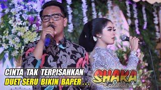 Download lagu CINTA TAK TERPISAHKAN (Cover) DUET BIKIN BAPER.. || DIAZ Ft ATIM || SHAKA TREND MUSIC