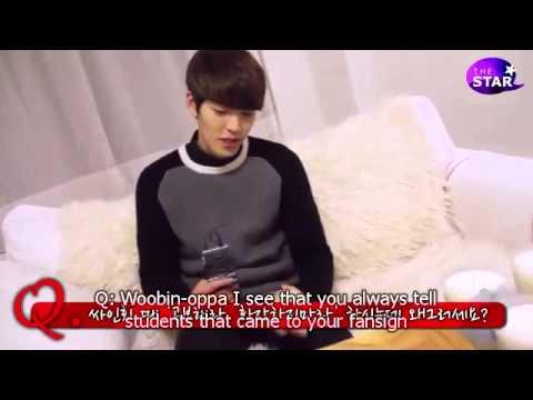 [ENGLISH SUB] Kim Woobin, The Neighborhood Oppa (Interview with TheSTAR)
