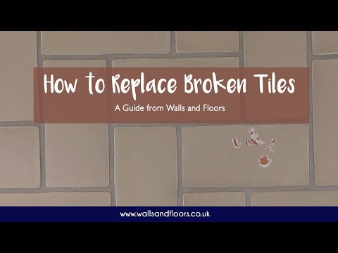 How To Replace A Broken Wall Tile