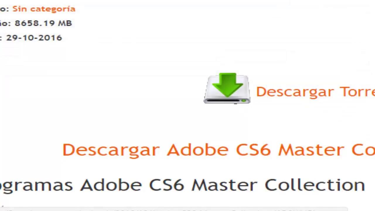 Como descargar adobe flash cs6 para pc por utorrent youtube.