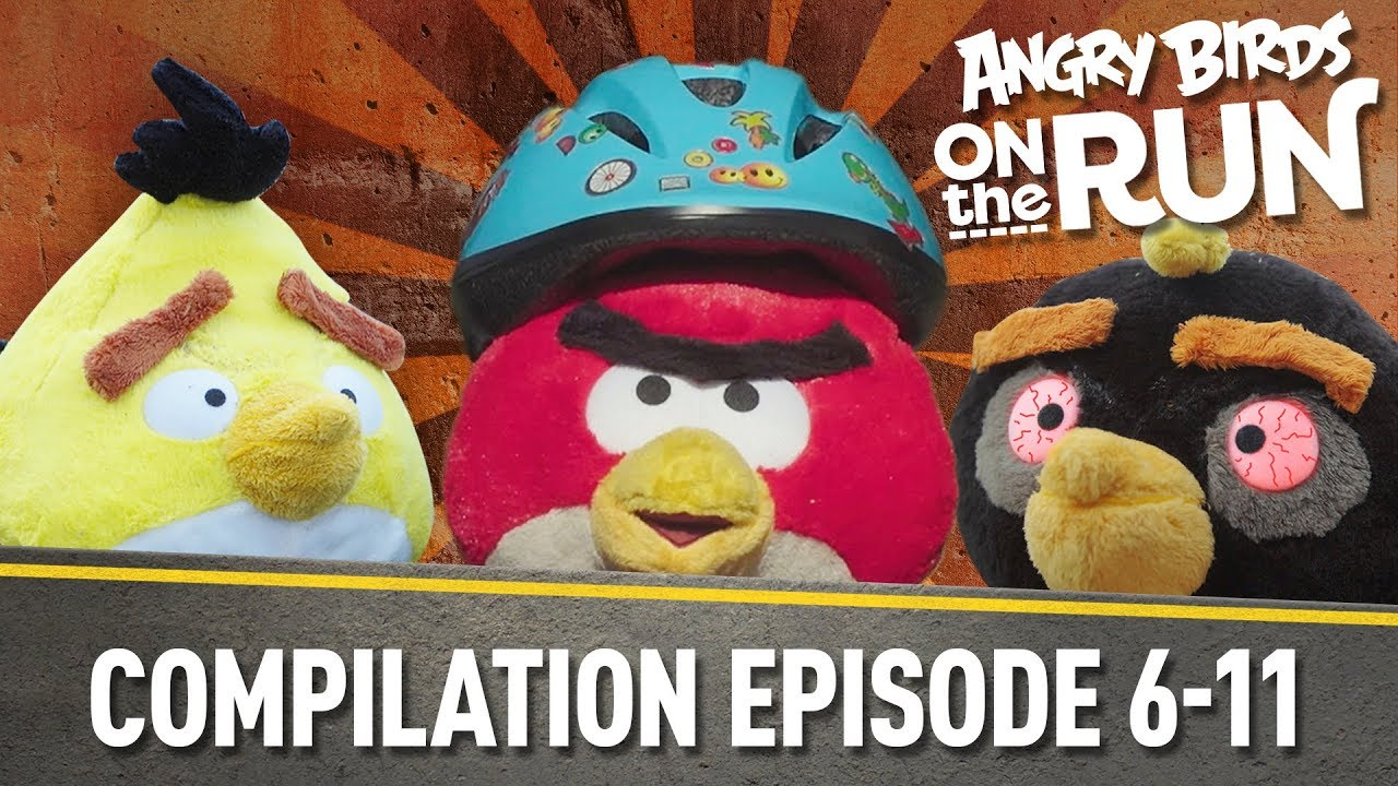 Angry Birds on The Run | Compilation Part Two - Ep6 to Ep11