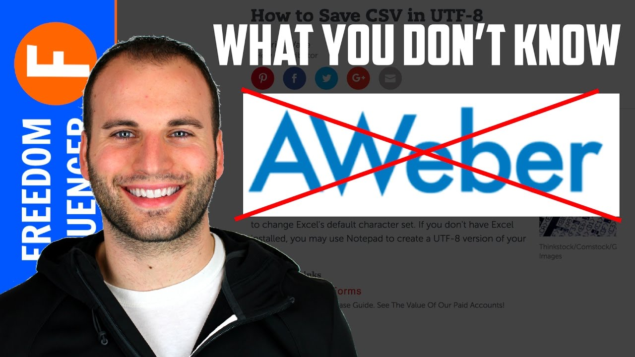 WHY I LEFT AWEBER - WHAT MOST PEOPLE DON'T KNOW ABOUT AWEBER