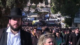 Israel buries four Jews killed in Paris attacks