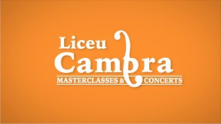 Liceu Cambra - Concerts i masterclasses al Conservatori del Liceu