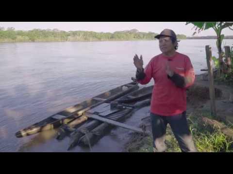 Pescador comunidad Santa Isabel