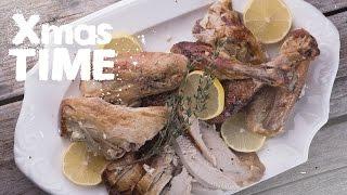 как Правильно Разделывать Готовую Индейку  Новогодние и Рождественские Рецепты на FOOD TV