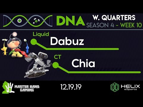 DNA S4:W10 - Liquid | Dabuz (Olimar) Vs. CT | Chia (ROB) - W Quarterfinals
