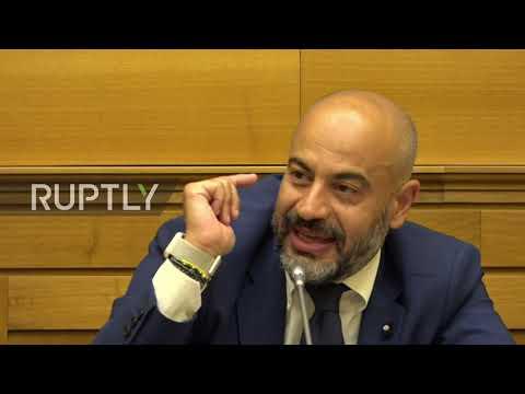 Italy: Ex-Five Star senator launches anti-EU 'Italexit' party in Rome