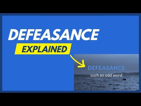 defeasance-explained