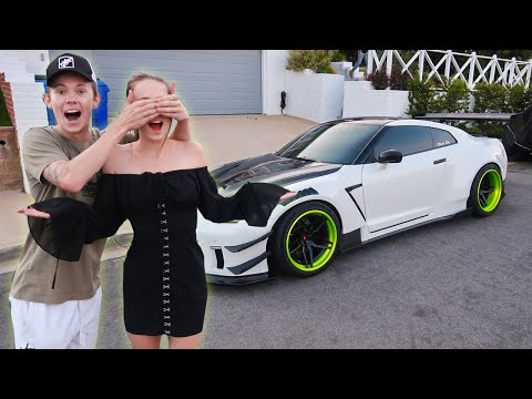 Her First Time In My 1000HP GTR! (IT'S BACK)