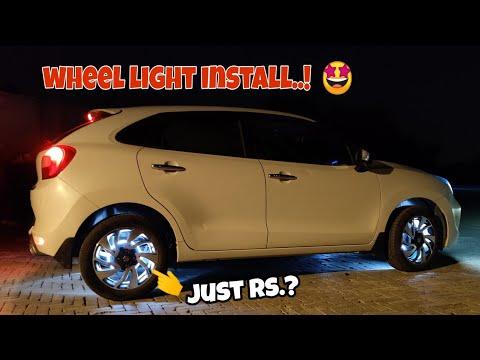 Wheel light for