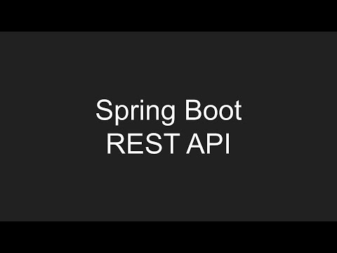 Создание REST приложения