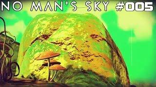 NO MAN'S SKY | Mein Gold-Planet! | #005 | ★ LIVE LET'S PLAY ★ [Deutsch / German]