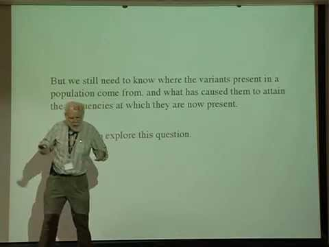Brian Charlesworth - DNA sequence variability and the coalescent