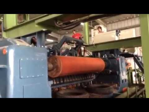 Log Charger Amp Rotary Veneer Lathe Peeling Machine