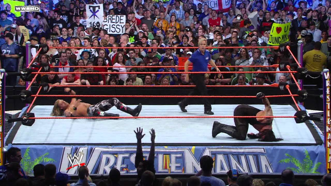 The Undertaker captures the World Heavyweight Championship