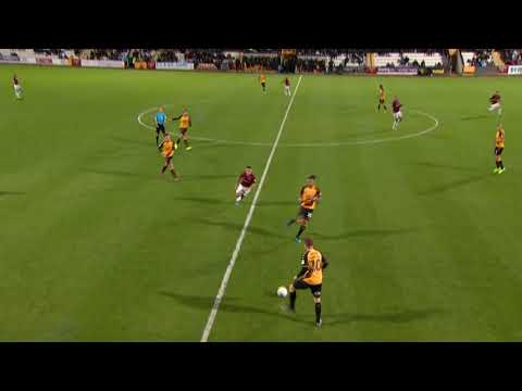 HIGHLIGHTS: Cambridge United 0 Northampton Town 1