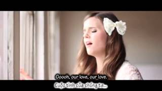 [Lyric & Vietsub] Just give me a reason - Tiffany Alvord ft. Trevor Holmes
