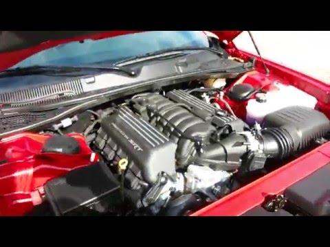 Redline Red 2016 Dodge Challenger R/T Scat Pack 485 HP