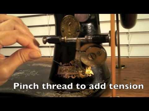 Wind a Long Bobbin on a Treadle Sewing Machine