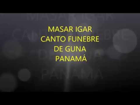 canto funebre de los gunas de Panamá