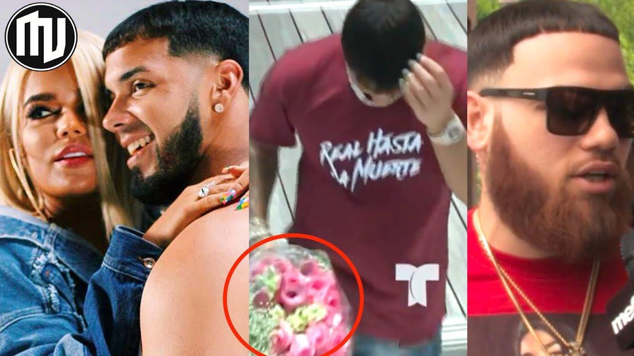 Wow Anuel Confiesa Su Amor A Karol G Video Juntos Miky Woodz